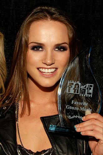 Tori Black - Black at the 2010 FAME Awards
