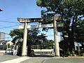Torii of Suiten Shrine from inner side.jpg