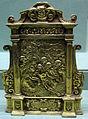 Toscana, pace in bronzo dorato, 1590 ca., da ss. ippolito e biagio.JPG