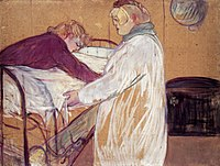 Toulouse-Lautrec - Two Women Making the Bed, 1891.jpg