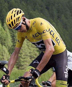 2017 Vuelta a España - Image: Tour de France 2017, froome (35326162004) (cropped)