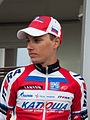 Tour de Romandie 2013 - Stage 5 - Podium - Simon Špilak (cropped).jpg
