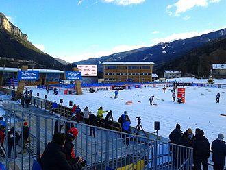 Tesero - Tour de Ski 2013 at Lago di Tesero Cross Country Stadium