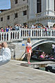 Tourism and modeling on bridge in Venice.jpg