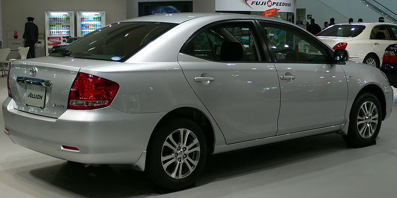 to be a Toyota Allion