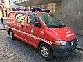 Toyota van for Bergen Brannvesen (fire department) Kurs og kompetanse, Bergen, Norway. 2018-03-18 A.jpg