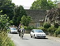 Traffic on the main road, Stanton St. Quintin - geograph.org.uk - 1405079.jpg