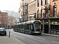 Tram in Victoria Street - geograph.org.uk - 1410597.jpg