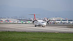TransAsia Airways ATR 72-212A B-22816 Departing from Taipei Songshan Airport 20150101a.jpg
