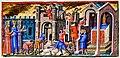 Travaux de couverture en plomb sur psautier de la cathédrale de Cantorbery - BnF Paris - Manuscrit access n° 8846..jpg