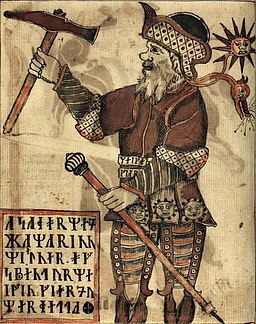 19th Century Depiction of Norse Storm God Thor