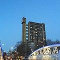 Trellik Tower in the twilight from Golborne Road.jpg