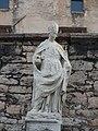 Trento-Castello del Buonconsiglio-statue of Saint Vigilius on portal.jpg