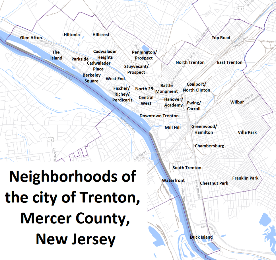 Trenton neighborhoods