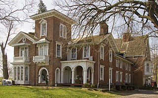 Trevanion historic home in Maryland, United States