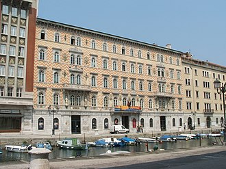 Serbs in Italy - The Palazzo Gopcevich