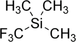 Trifluoromethyltrimethylsilane.png