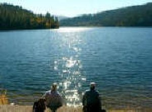 Trinity Lake - View at Trinity Lake.