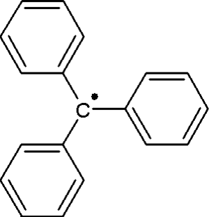 Triphenylmethyl radical