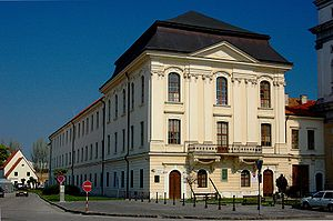 University of Trnava - Image: Trnava old university