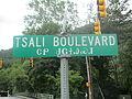 Tsali Boulevard sign, Cherokee, NC IMG 4880.JPG