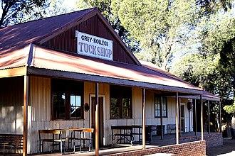 Grey College, Bloemfontein - Image: Tuck Shop