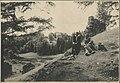 Tudengid Karksi linnusevaremete taustal - Students by the Karksi Fortress Ruins (21891804451).jpg