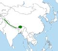 Turdus maximus distribution map.png