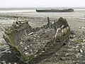 Two wrecks on the Mud at Elmley Ferry - geograph.org.uk - 575486.jpg