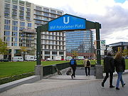 U-Bahn Berlin Potsdamer Platz