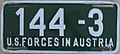 US-Forces-in-Austria USFA 1954-1955 license plate 144-3.jpg