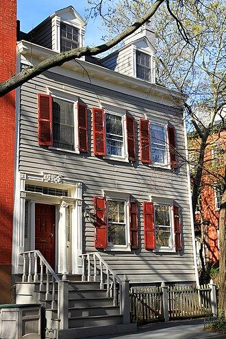 Brooklyn Heights Historic District - Image: USA NYC Brooklyn 24 Middagh Street