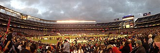 San Diego State Aztecs - Interior of Qualcomm Stadium (San Diego State football game)