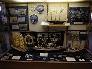 Coast Guard Museum Northwest - Image: USCG Museum NW Coast Guard Academy exhibit
