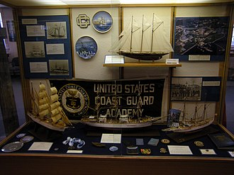Coast Guard Museum Northwest - Image: USCG Museum NW Coast Guard Academy exhibit