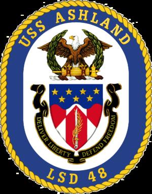 USS Ashland (LSD-48) - Ashland Crest