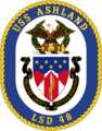 USS Ashland LSD-48 Crest.png