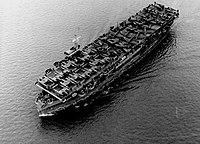 USS Barnes (CVE-20) transporting P-38s and P-47s 1943.jpeg