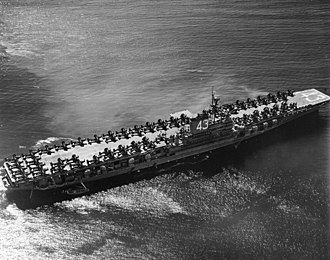 USS Coral Sea (CV-43) - USS Coral Sea on her maiden cruise in 1948