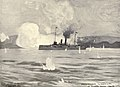 USS Detroit (C-10) silences Cañuela Battery, 5-28-1898.jpg