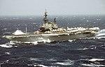 USS Midway (CV-41) in rough seas 1987.JPEG