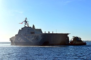 USS Montgomery (LCS-8) off San Diego on 8 November 2016.JPG