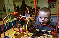 US Navy 050114-N-3659B-050 he Morale Welfare and Recreation Child Development Center on board Naval Support Activity Mid-South in Millington, Tenn., provides daycare services.jpg