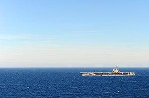 US Navy 120131-N-YM590-176 USS George H.W. Bush is underway in the Atlantic Ocean.jpg