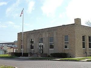 Sabetha, Kansas - US Post Office in Sabetha (2014)