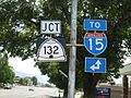 UT-132, TO I-15 Signs Close Up - panoramio.jpg