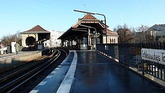 Schlesisches Tor (Berlin U-Bahn) - Image: Ubahn Schlesischestor
