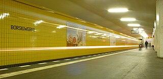 Borsigwerke (Berlin U-Bahn) Berlin U-Bahn station