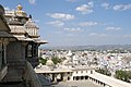 Udaipur, India, Architecture of the Udaipur City Palace.jpg