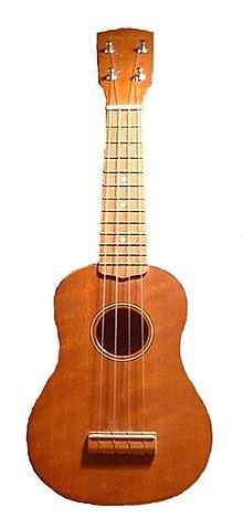 Foto af ukulele